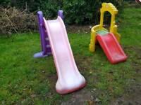 Two children's slides