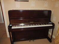 Kemble piano. Good condition.