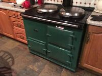 2 -oven gas fired Aga for sale