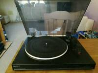 Sony turntable record plater