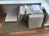 72 Better Bathrooms Classic Beige Square Travertine Tiles 13 m2
