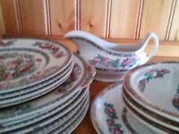 Hotel Collection assorted crockery.Indian tree. Johnson Bros and Hargreaves.