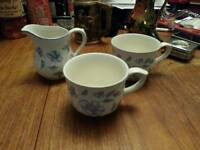 Cups and milk jug
