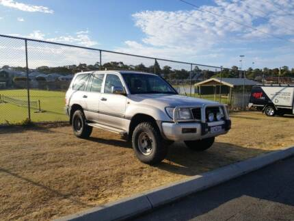 2000 FZJ105R GXL LANDCRUISER AUTO Scarborough Stirling Area Preview