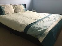 IKEA King size bed and mattress for sale urgently in good condition