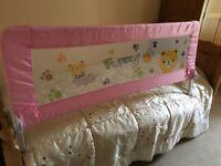 Brand new longer length bed guard