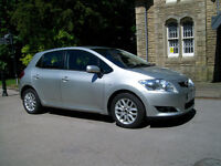 TOYOTA AURIS 1.6 TR 2008 5 DOOR.FULL SERVICE HISTORY.HPI CLEAR
