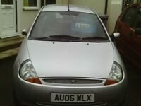 ford ka, 2006 reg, 69,000 miles only, new mot, full history, first to see will buy