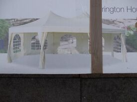 Gazebo - marquee - party tent- very large bigtop style brand new boxed.