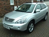2008 08 LEXUS RX400 H 3.3 CVT SE HYBRID ELECTRIC AUTOMATIC ** WELL MAINTAINED ** HIGH SPEC LEVEL **