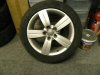 AUDI alloy wheels 17 inch 225/50 ZR17 x 4