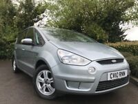 2010 (10) Ford S-Max 2.0 TDCI ZETEC 74,000 MILES 7 SEATER 2 OWNERS FROM NEW EXCELLENT CONDITION