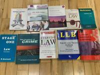 10 x law books