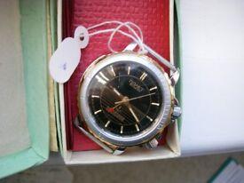 Poljot manual wind mechanical alarm wristwatch - Russia - New old stock '00 - cal 2612
