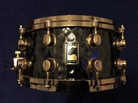 LIMITED EDITION Black Panther Mapex 24kt Gold Hand Hammered Brass Series 14x6.5