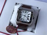 Swiss Cartier Santos 100 Automatic Watch