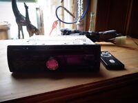 SONY CAR RADIO / CD PLAYER CDX-A250