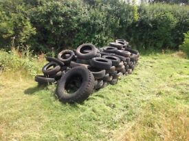 Old Free Tyres