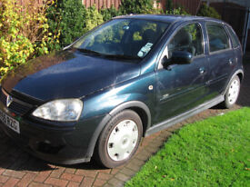 corsa 1.4 design automatic 55-reg one lady owner since 2006