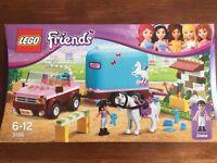 NEVER OPENED - LEGO Friends 3186: Emma's Horse Trailer