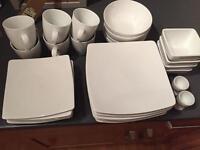 Debenhams Essential Porcelain Dinner Set