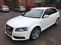 Audi A3 S line 2.0 TDI Sportback 5 door Excellent Condition NOT POLO A4 BMW
