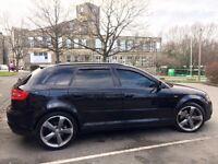 Audi A3 Black Edition S-Tronic 170 Full Audi S/H S Line DSG s3 golf tdi quattro a4 a5 gt r32 st gti