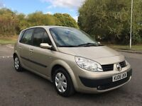 ((((( REDUCED TO CLEAR )))))) 2006 RENAULT SCENIC 1.6 ---- 1 YEARS - MOT