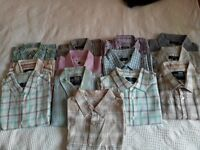 13 Medium Casual Shirts £2 each only or £25 for all.
