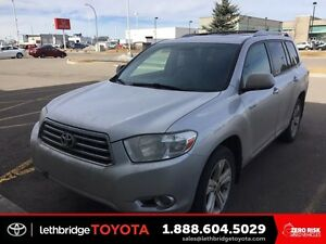 Certified 2008 Toyota Highlander Limited V6 AWD - LOW KM! FULLY
