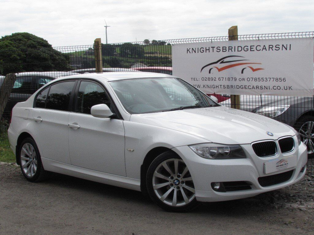 2009 BMW 320D SE AUTOMATIC WHITE 2 OWNERS 113k FULL SERVICE HISTORY IMMACULATE CONDITION