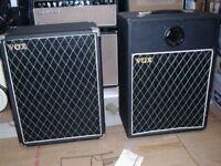 """Vox style 1x12"""" speaker cabinets"""