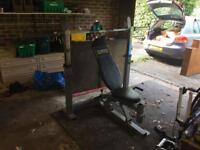 Powertec Olympic Bar and Bench Set - LOWERED PRICE
