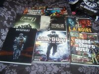 selection of strategy game guides
