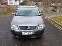 2005 Volkswagen Touran 1.6 FSI S 5dr (7 Seats) Manual @07445775115