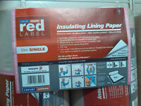 Insulating Wall Lining Paper and Paste.