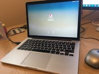 MacBook Pro (Retina, 13-inch, Early 2015) with Apple Care