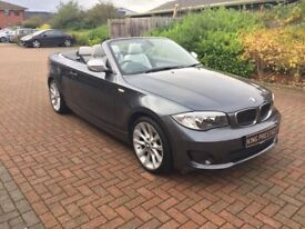 BMW 1 Series 118D 2.0 Exclusive Edition Convertible. Stunning Condition !