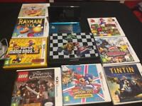 3DS with games in good condition