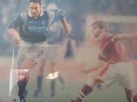 Ally McCoist Limited Edition Print -Signed