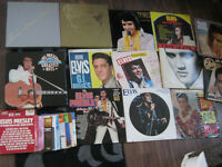 job lot elvis records box sets lps etc