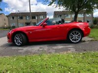 Mazda MX5 1.8 soft top. Only 7,600 miles. FDSH, 12 month MOT. Excellent Condition