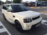 STOLEN Left Hand Drive LHD Range Rover Sport TDV8 2010 White