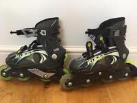 Roces in line skates size kids 12-2
