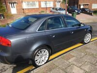 Grey Audi A4 , in nice condition. 10 months mot .