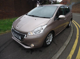 2013 PEUGEOT 208 ACTIVE E 1.6 HDI 2 FORMERS ONLY 36K MILEAGE 0% ROAD TAX FULL SERVICE HISTORY