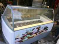 EDERA 157 2D HGD Cream SCOOP Freezer + UNDERCTORAGE 13 PANS