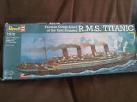 Titanic model kit - brand new unopened