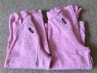 2 Thermal Tops Girls Aged 12