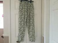 Ladies floaty trousers